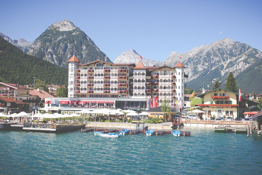 A Mountain Getaway in the Alps: Achensee, Strandhotel Entner | Travelettes.net