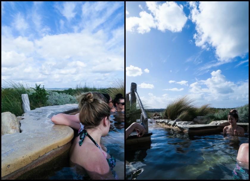 hilltop pool hot springs australia