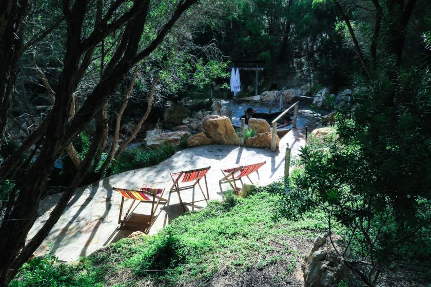 peninsula hot springs outside melbourne