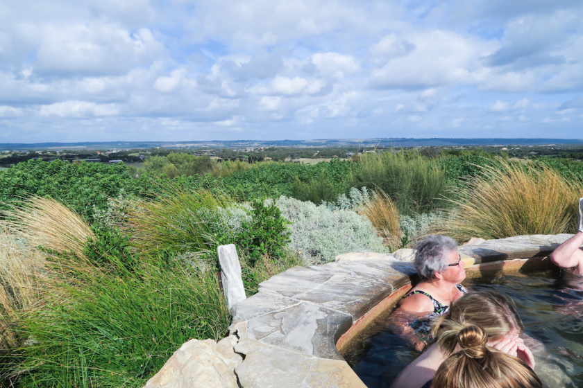 views at peninsula hot springs