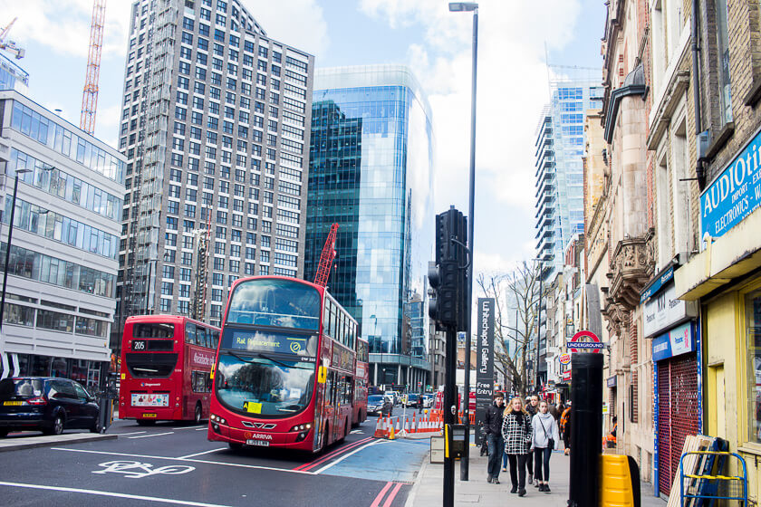 Doing London on a Budget with Meininger - Take the bus