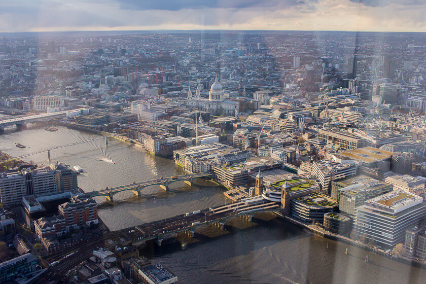 Doing London on a Budget with Meininger - View from the Shard