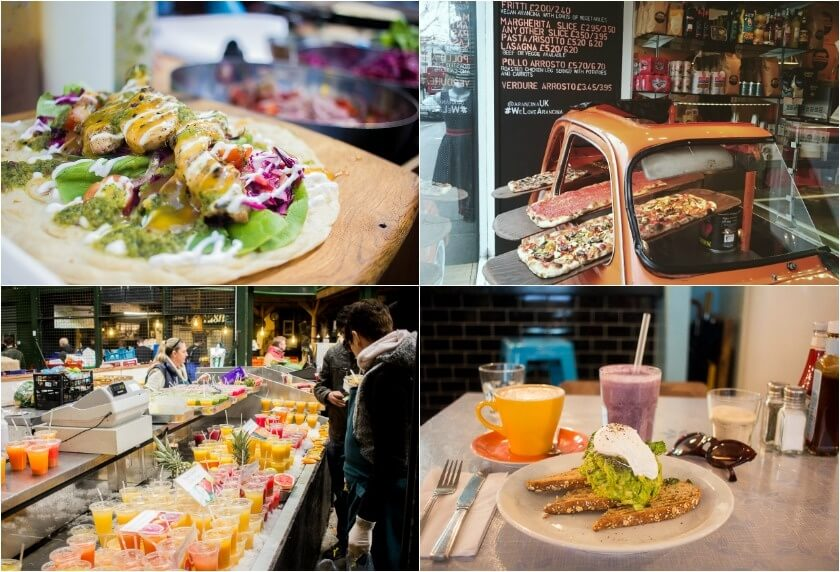 Doing London on a Budget with Meininger Hotels - Market Food