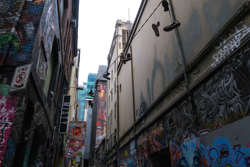 melbourne laneways street art