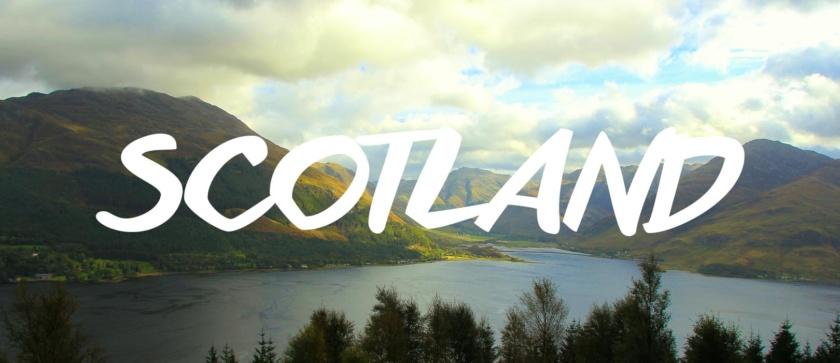 SCOTLAND featured destination website