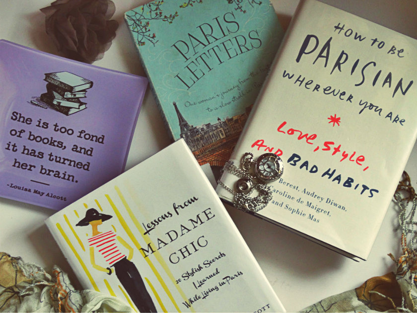 If you haven't planned a trip to Paris yet, one of these books might persuade you to. OR if your flight is already booked, these books are just what you need!