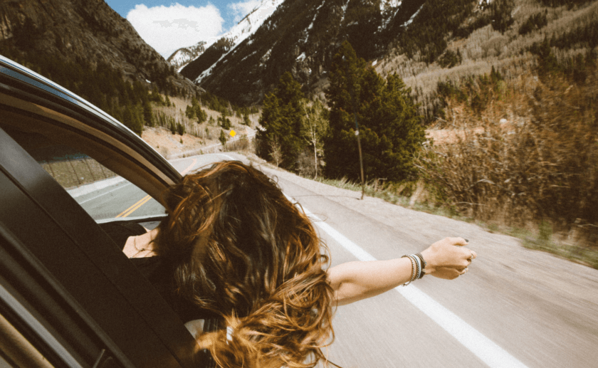 travel makes you feel alive