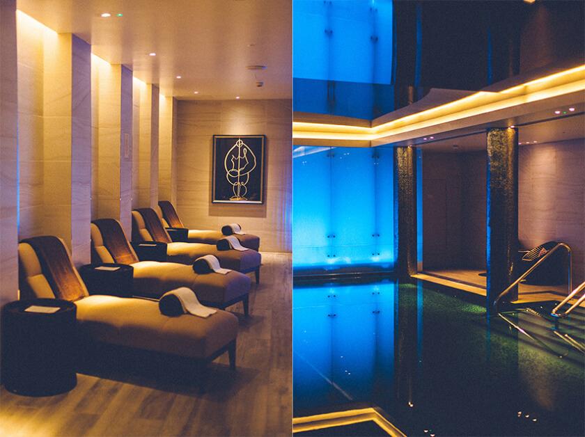 london marriott pool