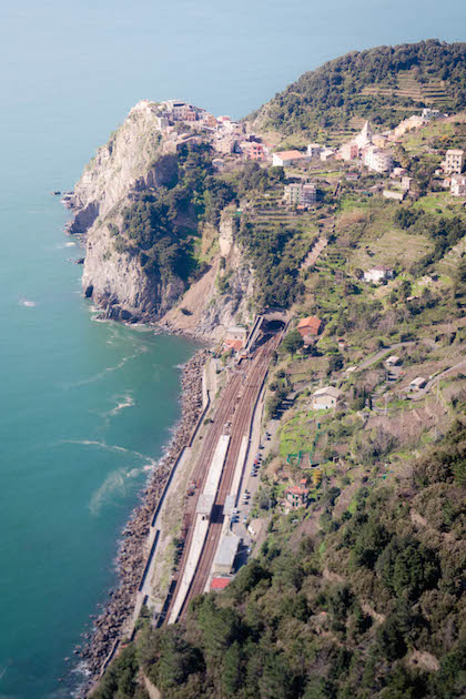 Mountains Hills Hiking Italy Cinque Terre Europe