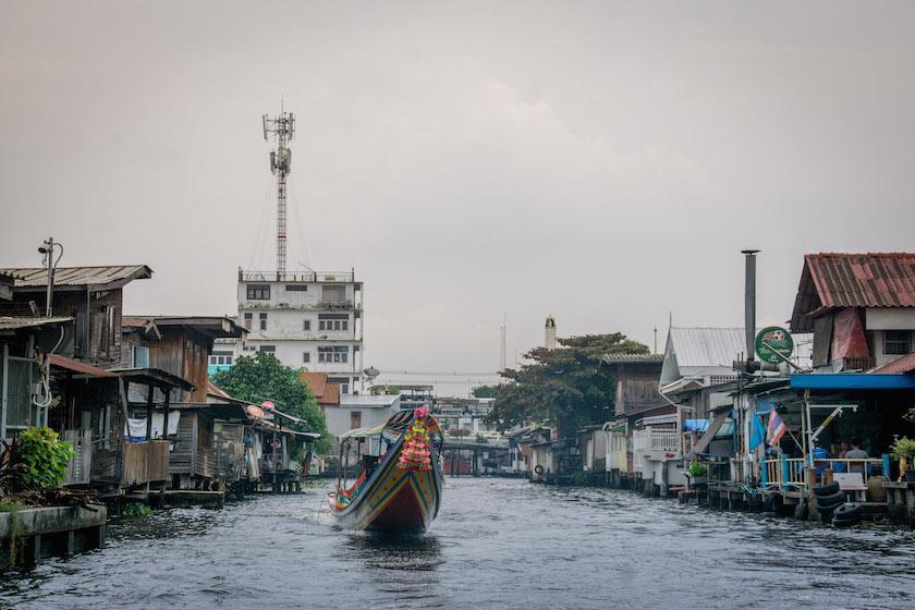 Canal Khlong Boat Tour Bangkok