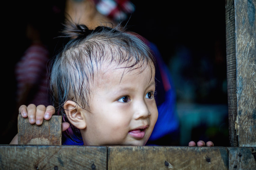 Thailand Land of Smiles Child