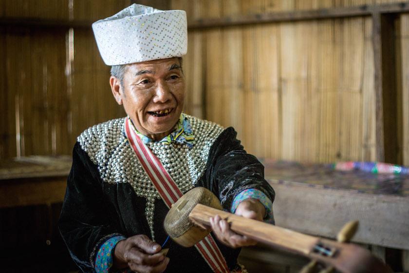 Thai Shaman North Hill Tribe Lisu