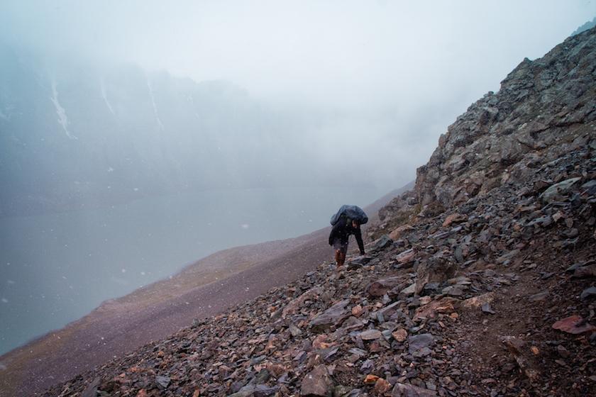 Mountains Hills Hiking Kyrgyzstan Central Asia Karakol