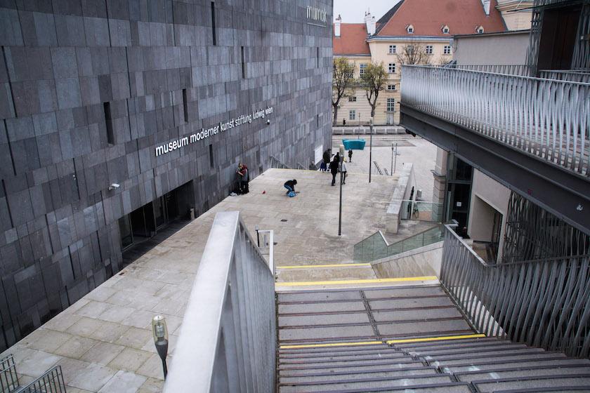 Museum Modern Art Contemporary Mumok Vienna Austria Europe