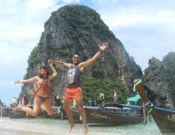 Couples who travel & blog: Romy and Luke