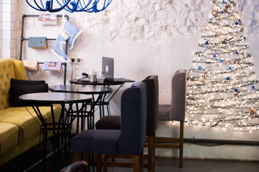 Kyiv Kiev City Guide Blue Cup Coffee Shop