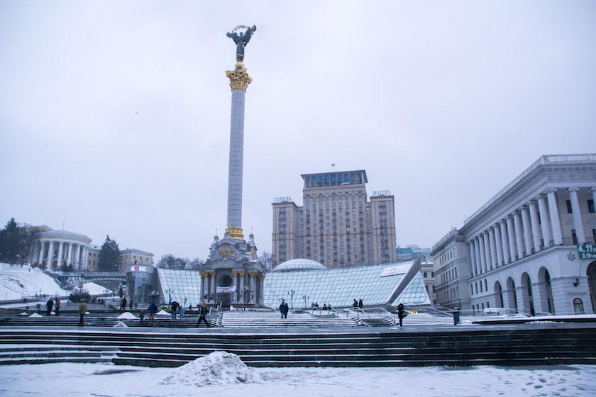 Kyiv Kiev City Guide Maidan Square Ukraine
