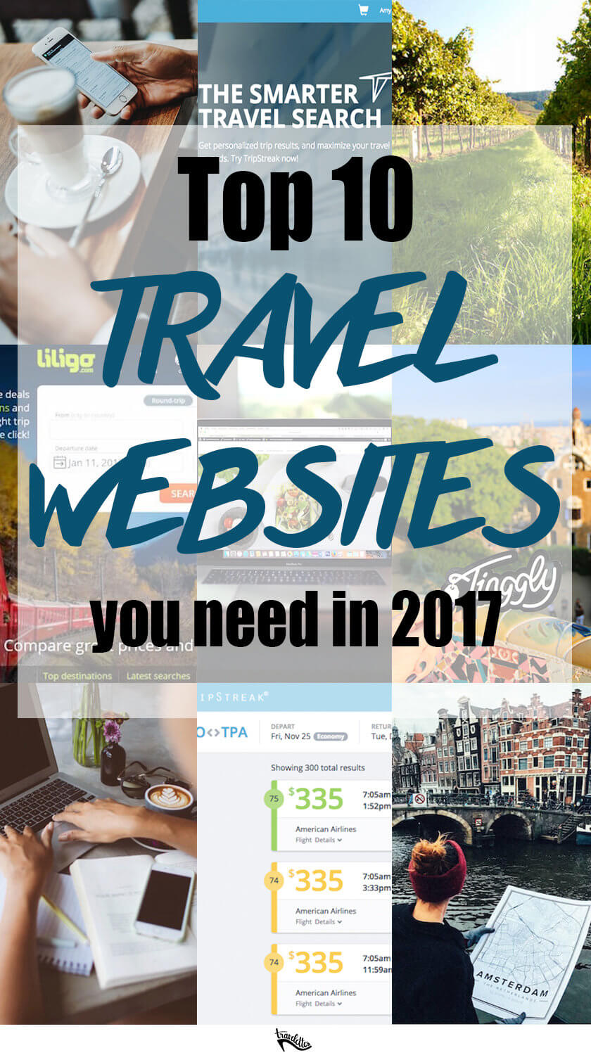Can you imagine planning, researching or booking a trip without the internet? We can't either - and these ten travel websites are in our bookmarks!
