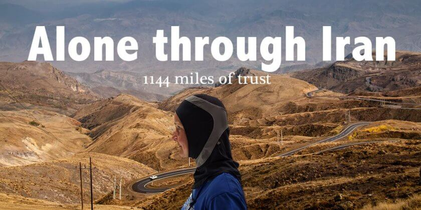 Inspiring Women Travellers: Kristina Paltén is running Alone through Iran