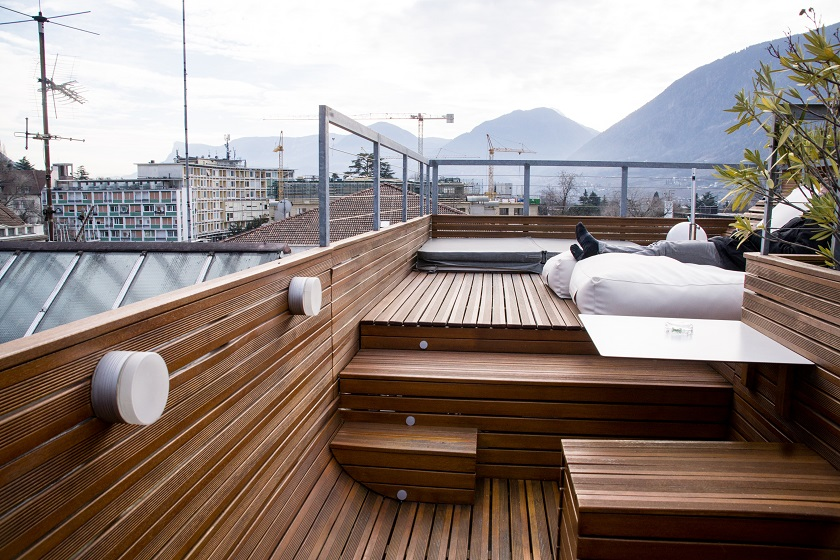 Imperial Hotel Merano South Tyrol Rooftop