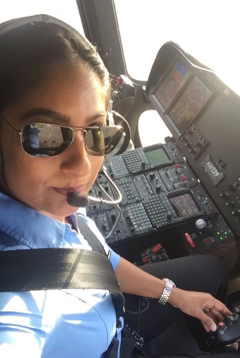 This Female Helicopter Pilot in Qatar follows her Dream to Travel the World