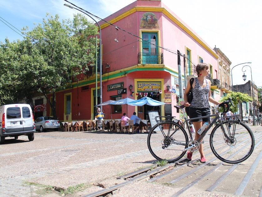 Can you imagine crossing a continent on a bicycle? Sissi Korhonen is cycling across South America and spoke to us about her adventure.