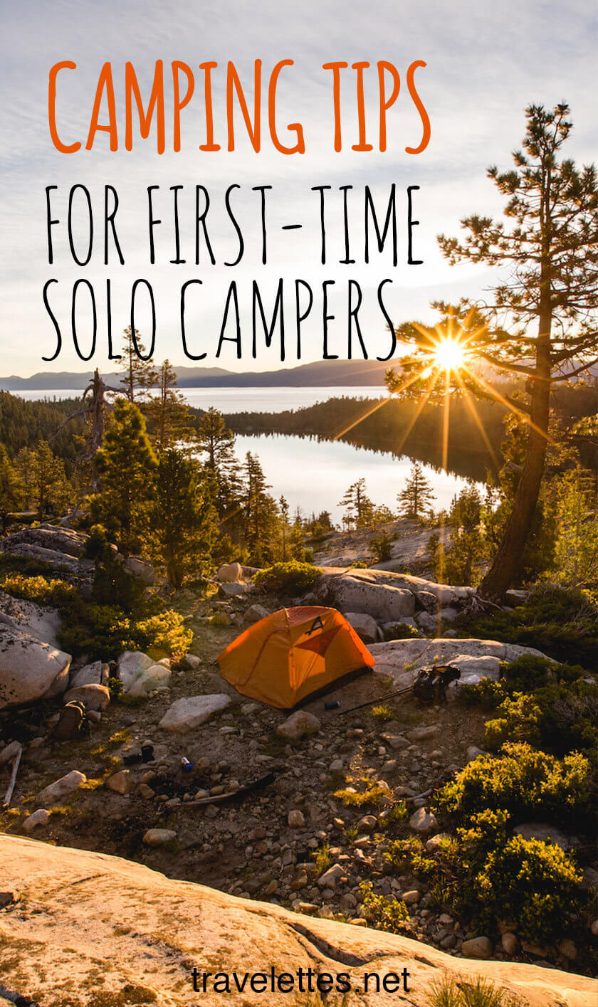 Are you a camping rookie and have never pitched a tent by yourself? These camping tips are for you!
