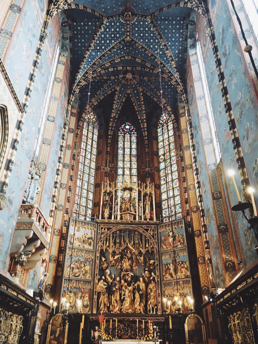 St Mary Basilica - 24 hours in Krakow