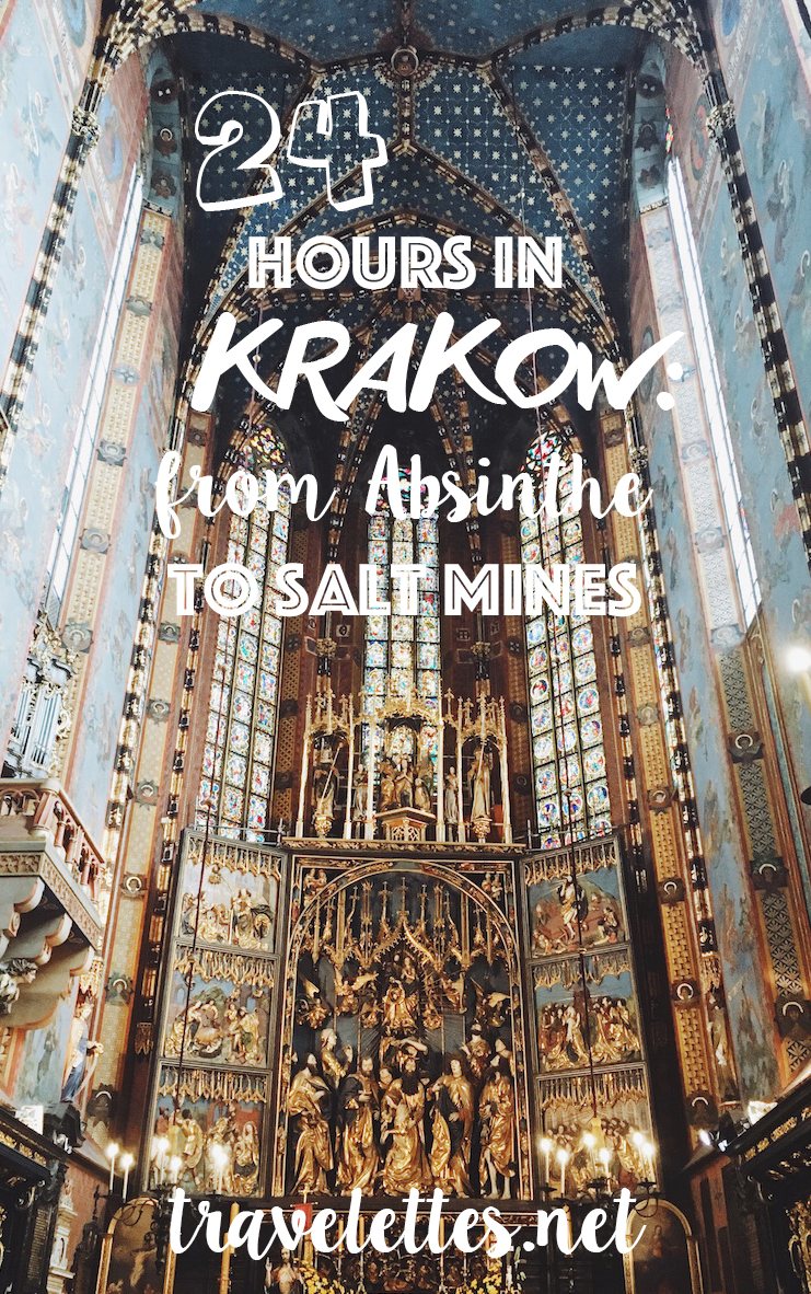 24 hours in Krakow: From Absinthe to Salt Mines