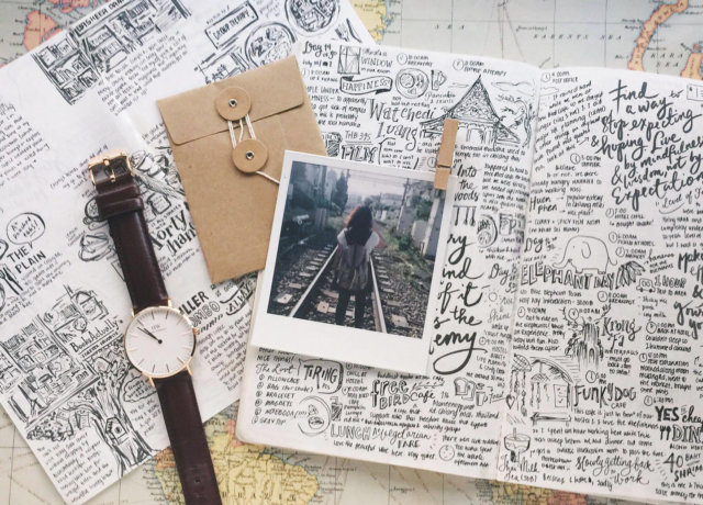 Drawing on experience: inspiration for your travel journal