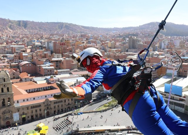 Being a Superhero in Bolivia: The biggest thrill in La Paz