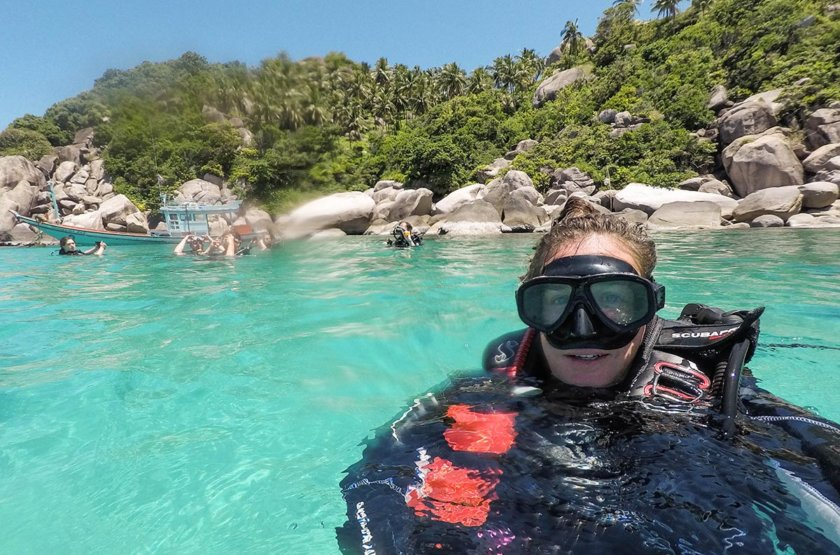 Becoming a PADI Divemaster on Koh Tao
