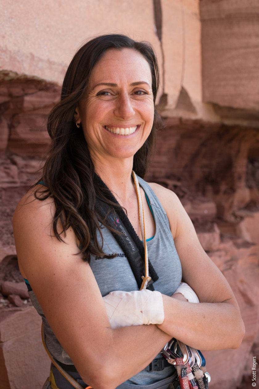 Hear what filmmaker Teresa Hoerl has to say about following your passion, women in adventure sports & her latest film 'Choices' about rock climber Steph Davis.