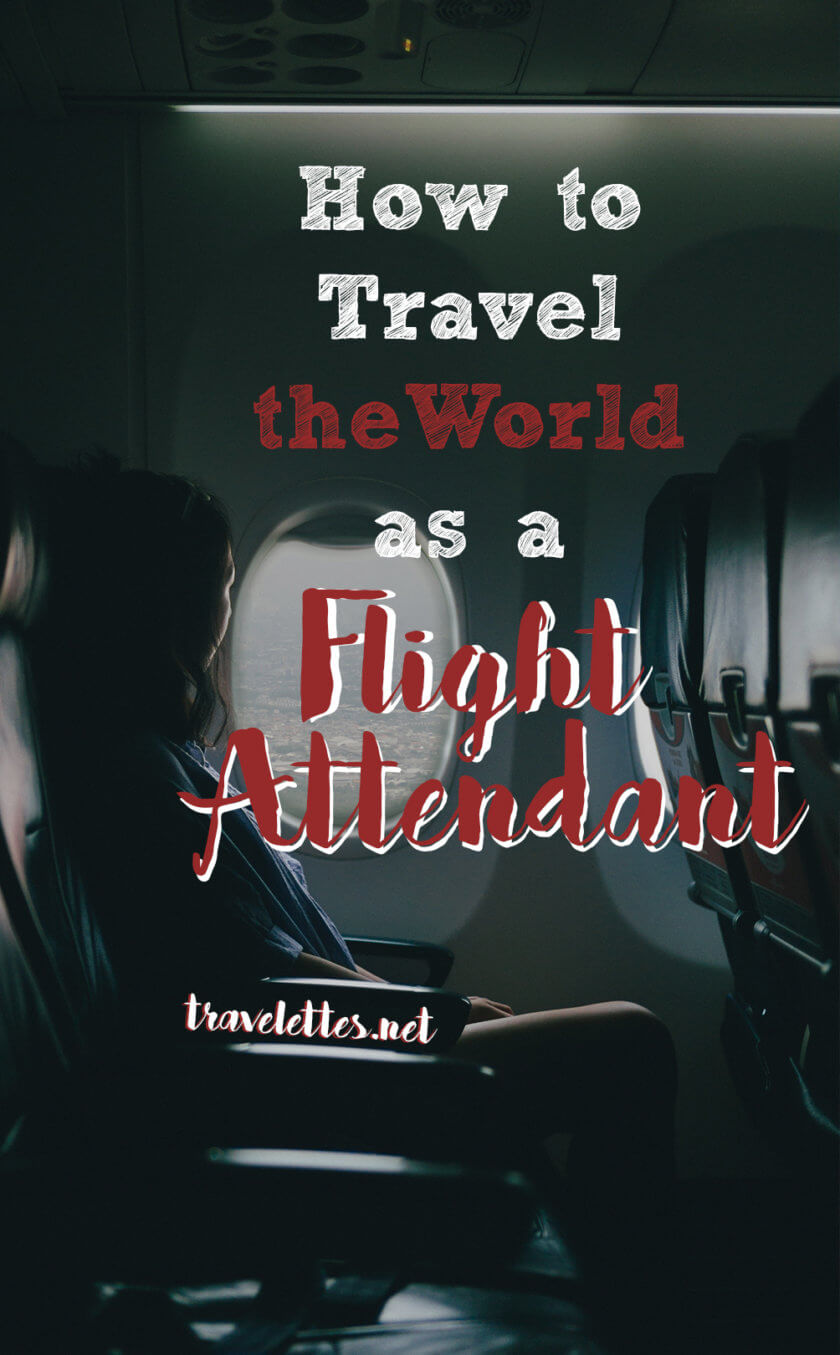 Ever wondered what it's like to travel the world for a living? We asked a former flight attendant to share what it's like!