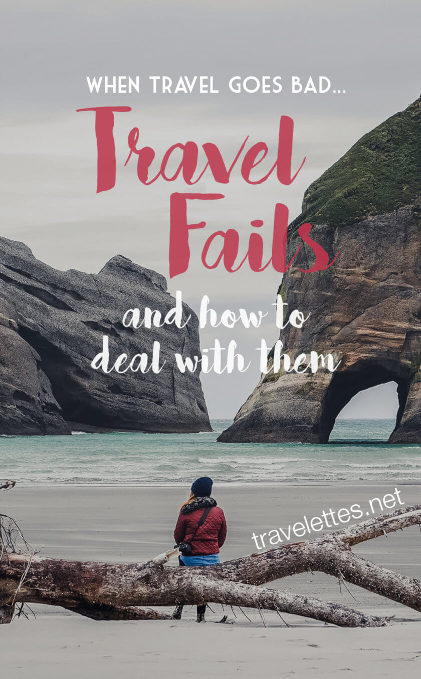 Travel is not always as perfect as it looks on Instagram... Guest blogger Courtney tells us her 4 worst travel stories & how she dealt with them!