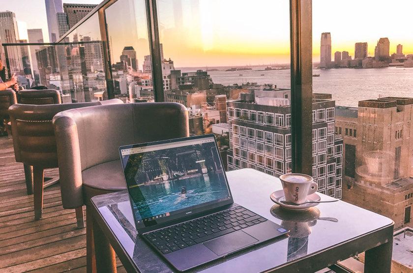 New York's best outdoor offices