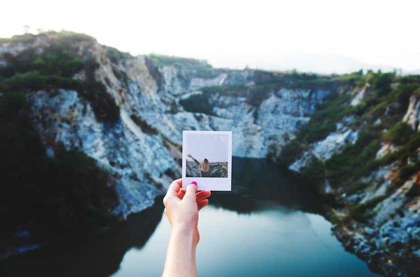 Yes, you can find yourself while traveling