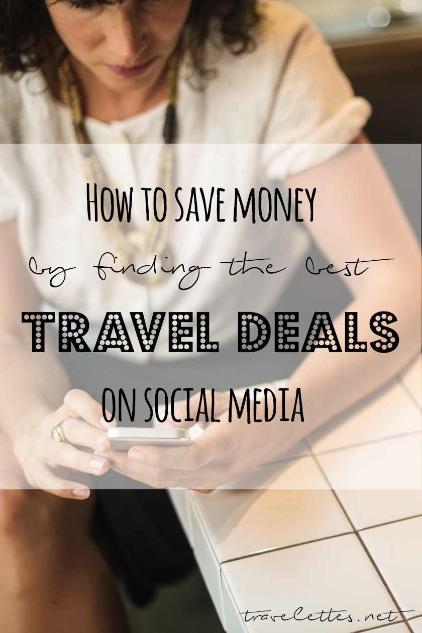 Want to travel, but got no money? Here are out top tips to find the best travel deals on social media, which accounts to follow and other brilliant travel hacks!