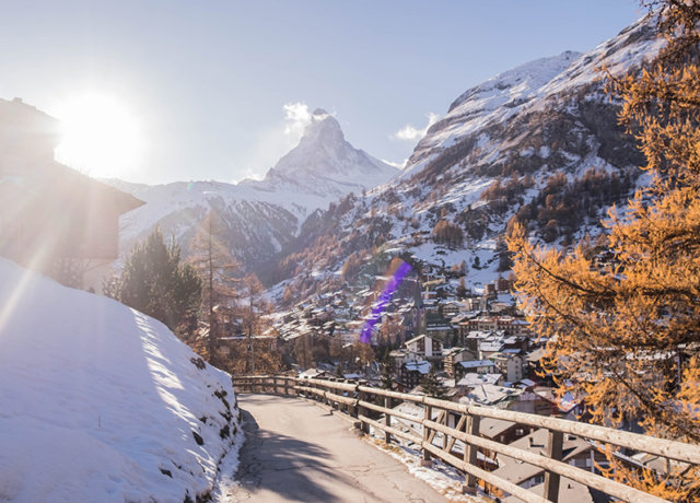 Of cheese, snow and a mountain - A weekend in Zermatt