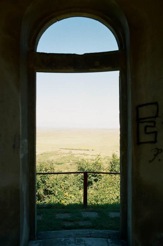 The view from the Gloriett in Fertoboz in Hungary.