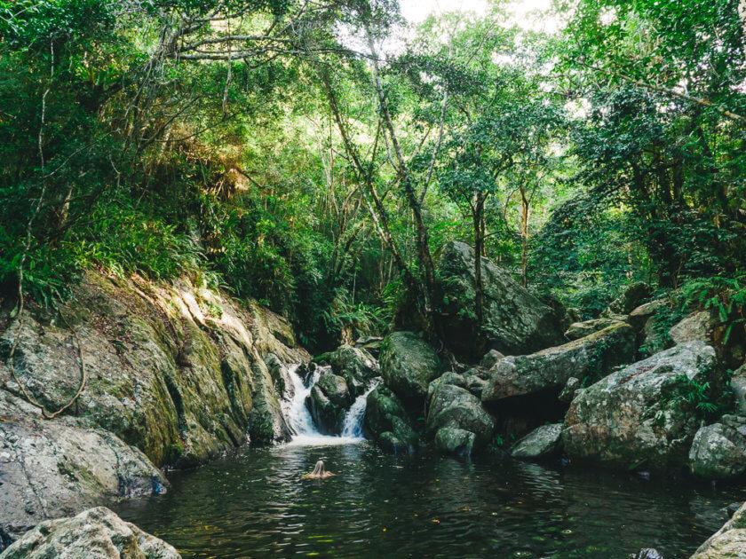 Stony Creek Falls Swim