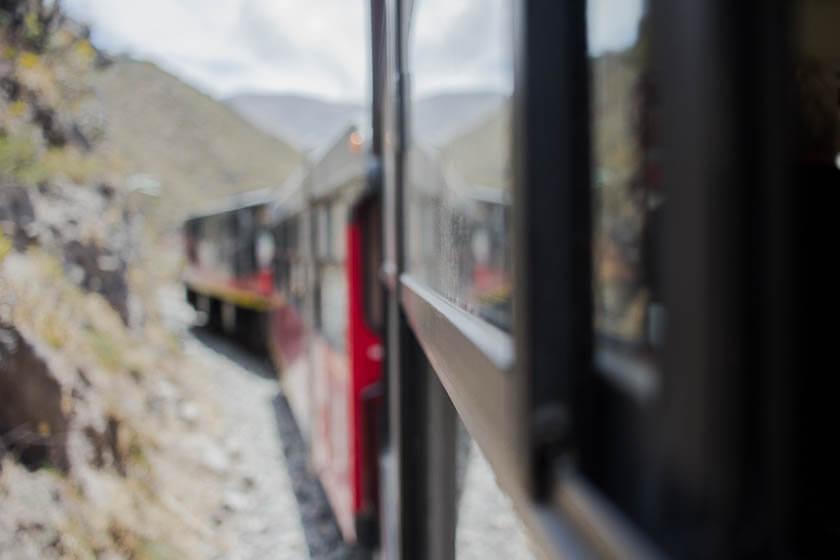 The Tren de la Libertad in Ecuador.