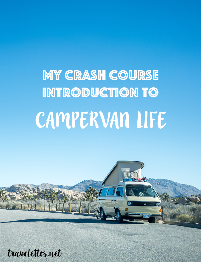 My Crash Course Introduction to Campervan Life