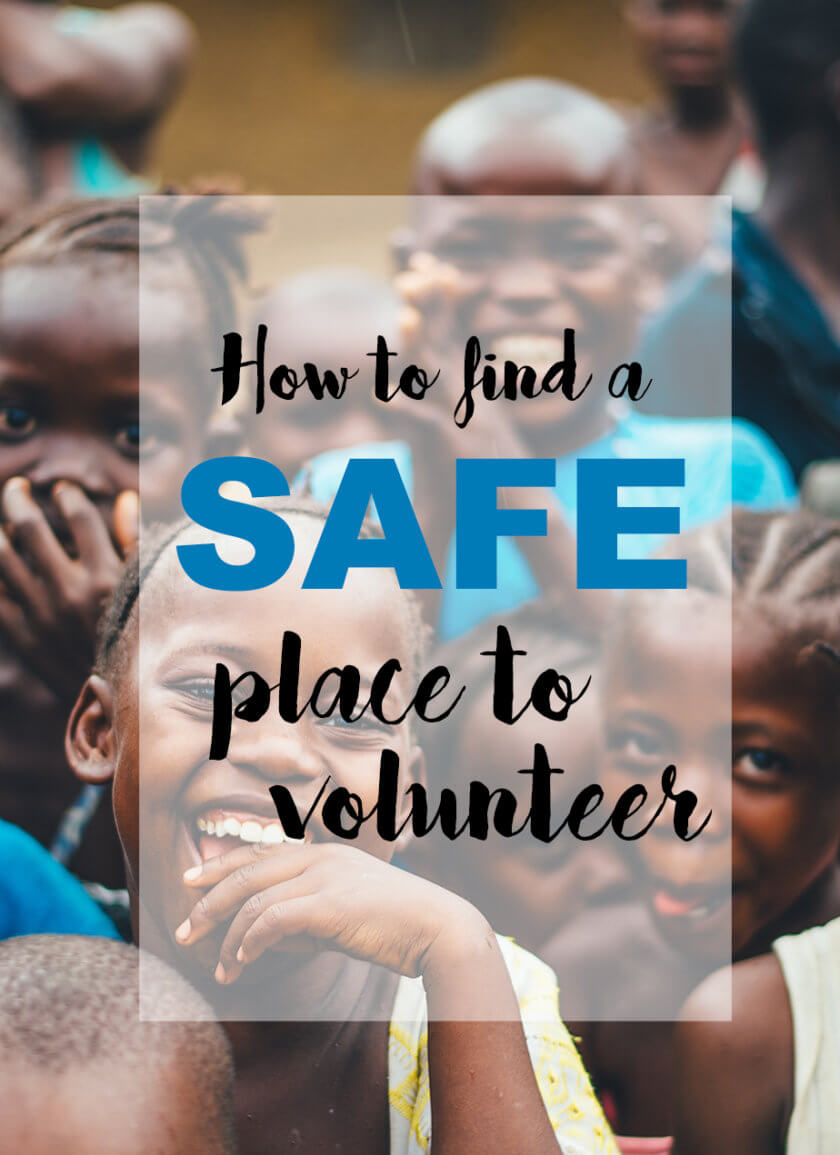 How to find a safe place to volunteer