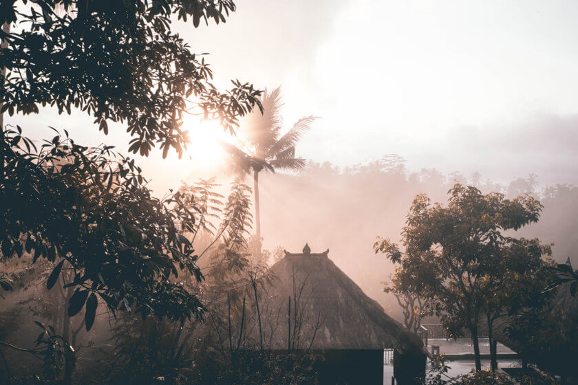 East meets east – Getting zen in Bali