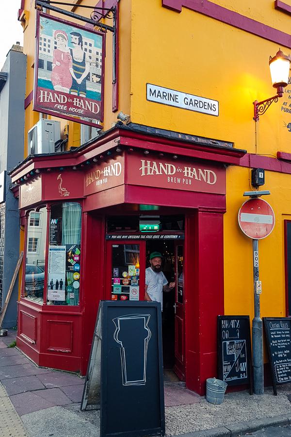 hand in hand pub in brighton