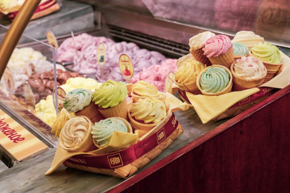 gum ice cream