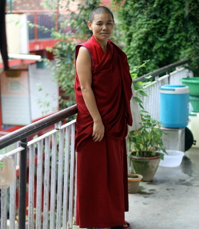Ngawang: Story of a political refugee from Tibet becoming a nun in India