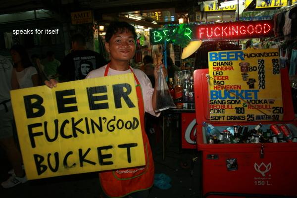 Bangkok: Take me home, Khao San Road