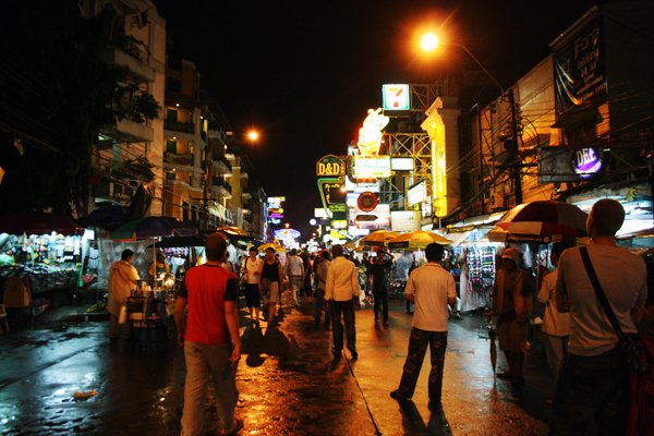 Bangkok: To Khao San Road, and step on it!